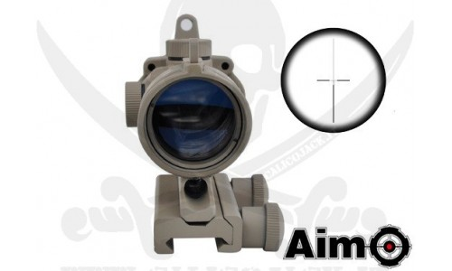 ACOG 4X32 SCOPE AIM-O TAN