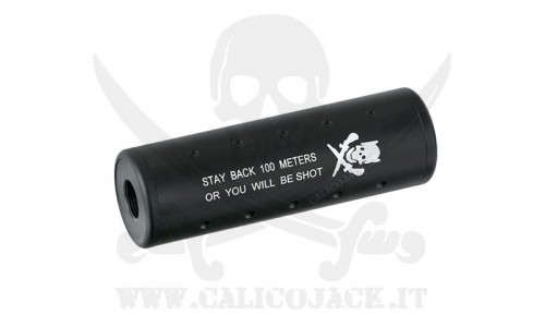 SILENCER 110MM STUBBY