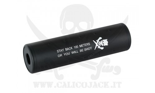 SILENCER 130MM STUBBY