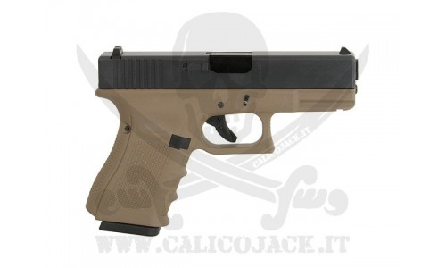 WE GLOCK G19 GEN.4 GAS TAN