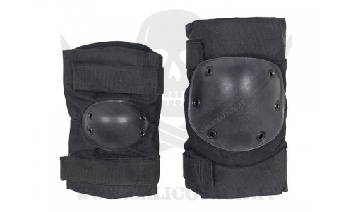KNEE AND ELBOW PADS SET 2.0 BLACK