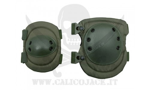 KNEE AND ELBOW PADS SET 1.0 GREEN