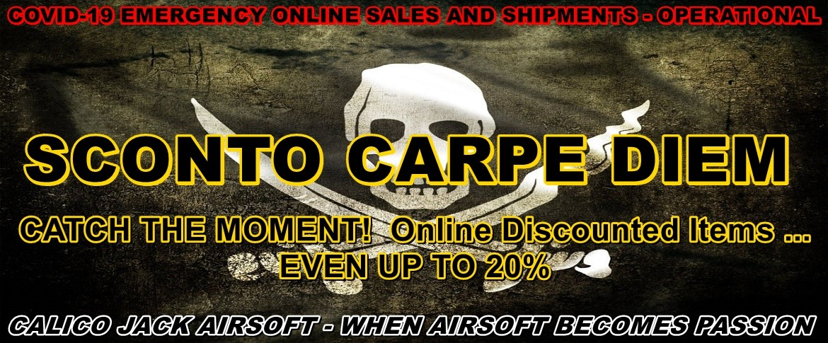 Catch the moment! Discounts UP to 20% for goods available in stock.